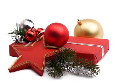 Schmuckbox mit Weihnachtsdeko